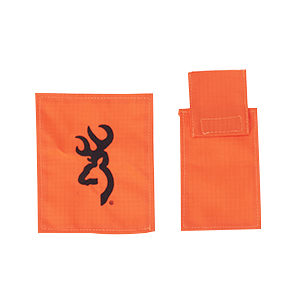 DOG VEST ACCESSORY, GPS POUCH ORANGE